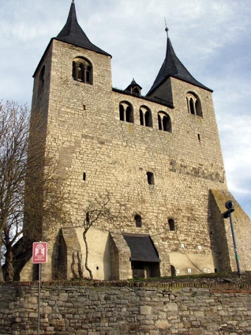 Frose, Stiftskirche (Sachsen-Anhalt): Westwerk, Quelle: Anwander