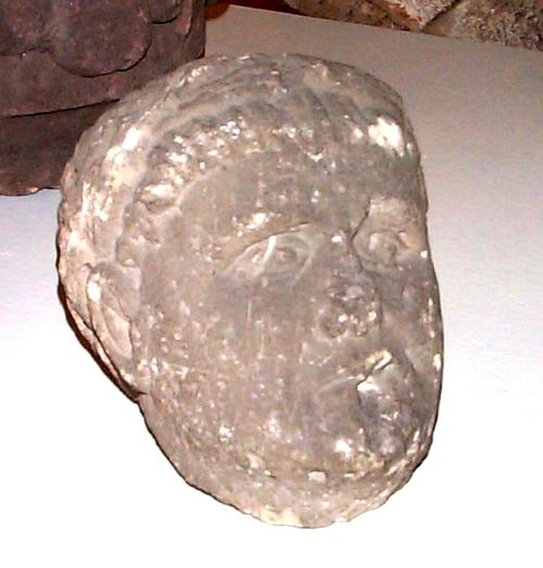Corvey, Museum: unbeschrifteter Kopf, Quelle: Anwander