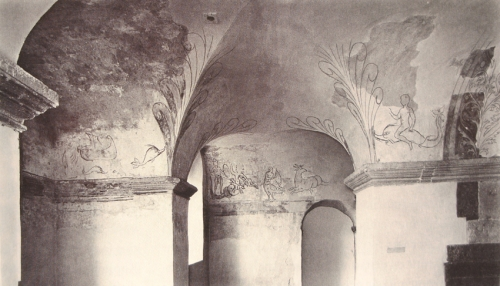 Corvey; Fresken im Obergeschoss: Überblick Quelle: CS