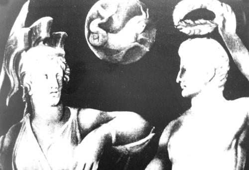 Gemma Augustea, Detail mit Capricornus, Wien, Kunsthistorisches Museum, Quelle Klabes