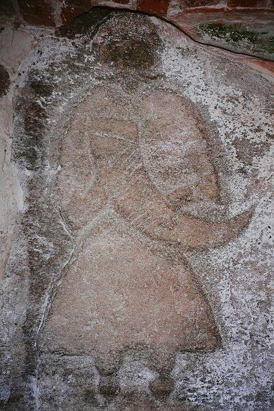Svantowitstein in der Pfarrkirche Altenkirchen, Quelle: Wikipedia