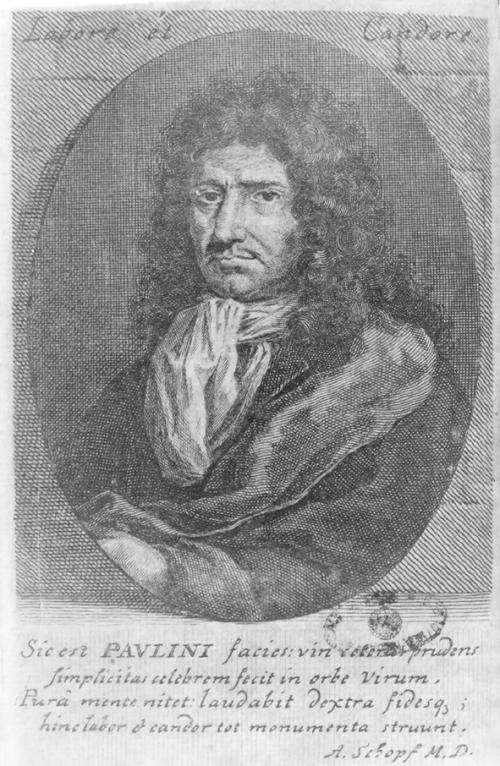 Christian F. Paullini, Quelle: http://www.orvoslas-ekf.eu/pecs/paullini.jpg
