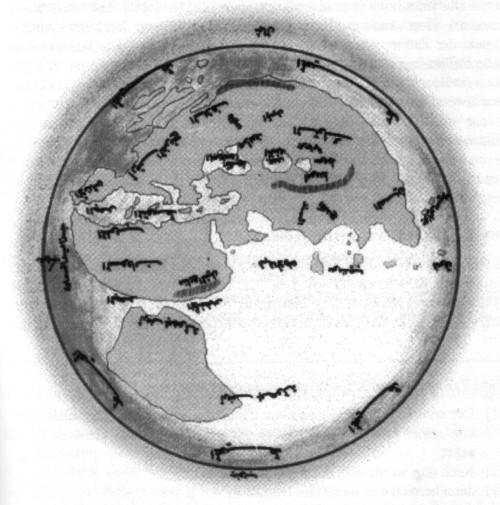 Al-Mas´ûdîs Weltkarte: