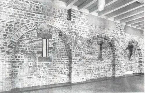 "Abb. 4: ""St. Irminen, römische Horrea"" (Getreidespeicher, 4. Jh.) [STA 123]"