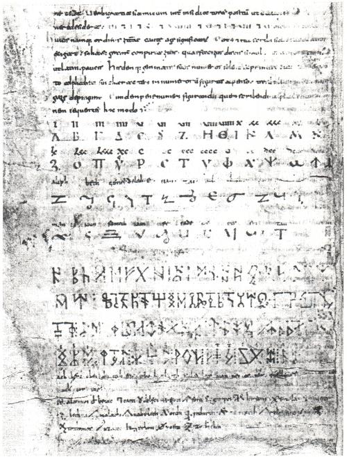 name in schriftzeichen der wikinger